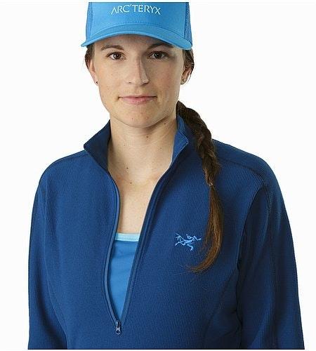 Delta LT Zip Neck Women's Poseidon Open Collar