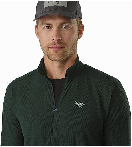Delta LT Zip Neck Zevan Open Collar