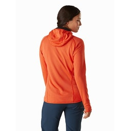 Delta MX 1/2 Zip Hoody Women's Astro Eden Back View