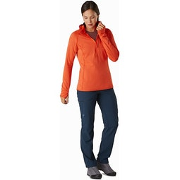 Delta MX 1/2 Zip Hoody Women's Astro Eden Full View