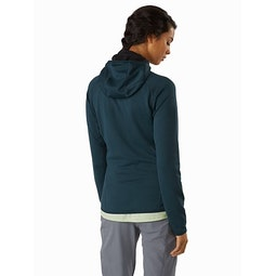 Delta MX Hoody Women's Labyrinth Back View