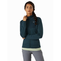 Delta MX Hoody Women's Labyrinth Front View 2
