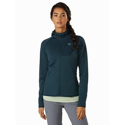 Delta MX Hoody Women's Labyrinth Front View