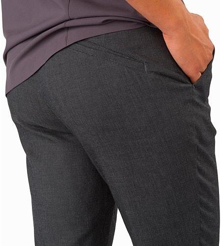 Devis Pant Women's Carbon Fibre External Pocket Back