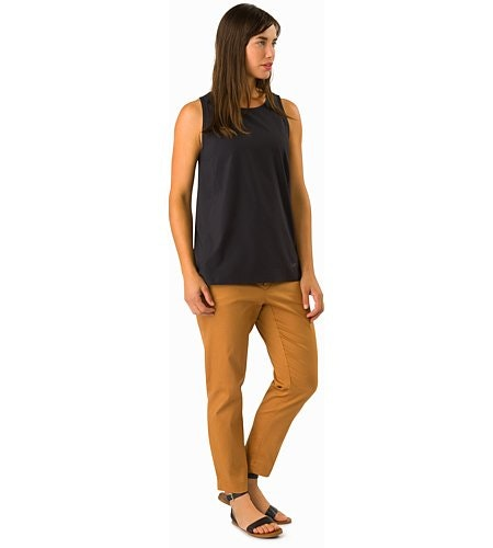 Devis Pant Women's Ginger Root Front View