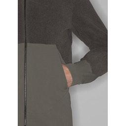 Dinitz Comp Jacket Clay Hand Pocket