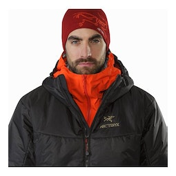 Dually Belay Parka Black Open Collar