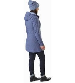 Durant Coat Women's Nightshadow Back View