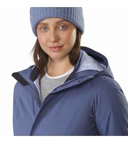 Durant Coat Women's Nightshadow Collar