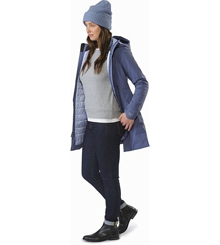 Durant Coat Women's Nightshadow Front View