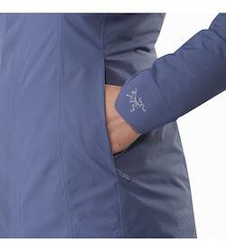 Durant Coat Women's Nightshadow Hand Pocket