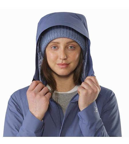 Durant Coat Women's Nightshadow Hood Front View