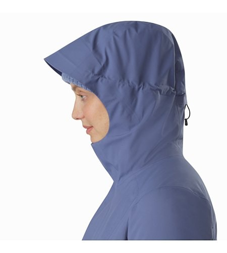 Durant Coat Women's Nightshadow Hood Up
