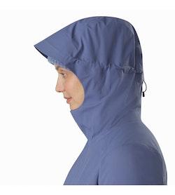 Durant Coat Women's Nightshadow Hood Up