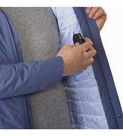 Durant Coat Women's Nightshadow Internal Security Pocket