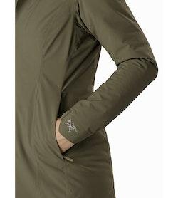 Durant Coat Women's Wildwood Hand Pocket