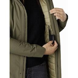 Durant Coat Women's Wildwood Internal Security Pocket