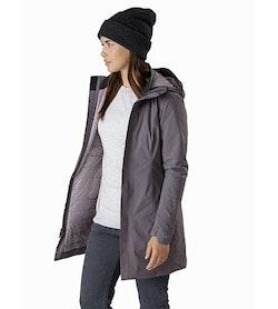 Durant Coat Women's Winter Hawk Front View