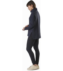 Edin Pant Women's Black Back View