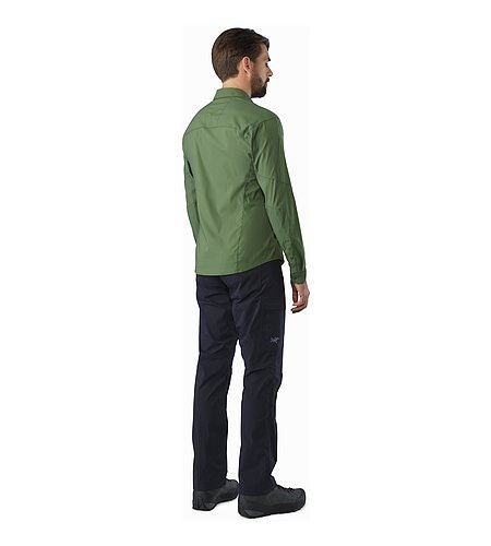 Elaho Shirt LS Cypress Back View