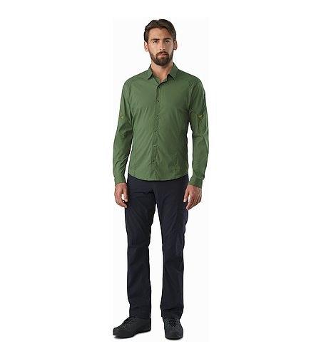 Elaho Shirt LS Cypress Front View