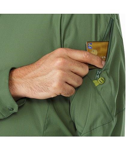 Elaho Shirt LS Cypress Sleeve Pocket