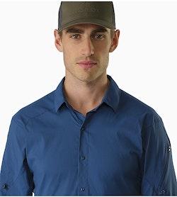 Elaho Shirt LS Nocturne Open Collar