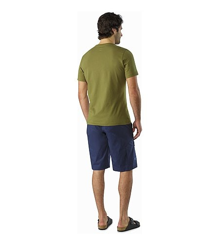 Emblem T-Shirt Roman Pine Back View