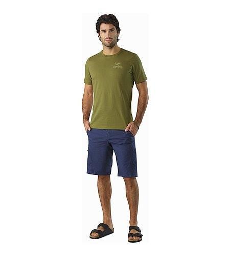 Emblem T-Shirt Roman Pine Front View