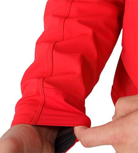 Epsilon LT Hoody Diablo Red Cuff