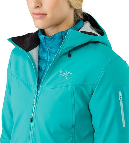 Epsilon LT Hoody Women's Castaway Open Collar