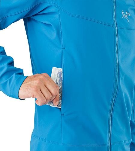 Epsilon LT Jacket Macaw Hand Pocket