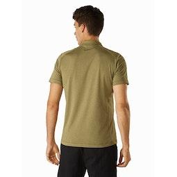 Eris Polo Shirt Taxus Back View