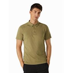 Eris Polo Shirt Taxus Front View