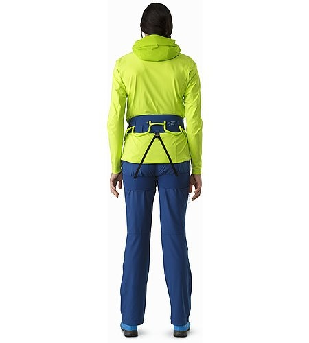 FL-355 Harness Women's Poseidon Titanite Back View