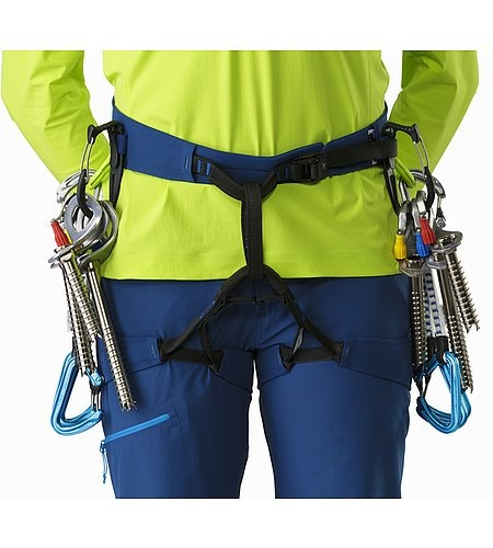 FL-355 Harness Women's Poseidon Titanite Front Detail