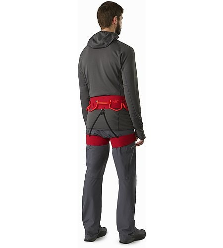 FL-365 Harness Red Beach Flare Back View