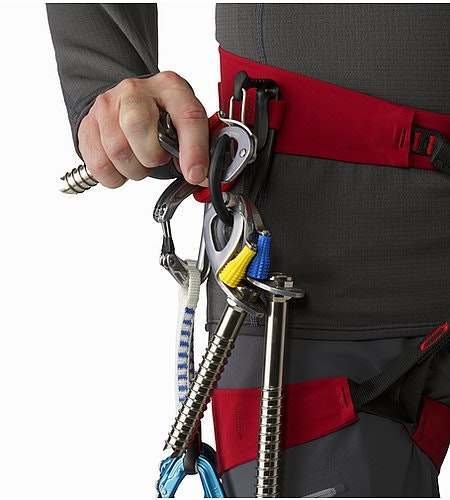 FL-365 Harness Red Beach Flare Ice-Clipper-Schlaufe
