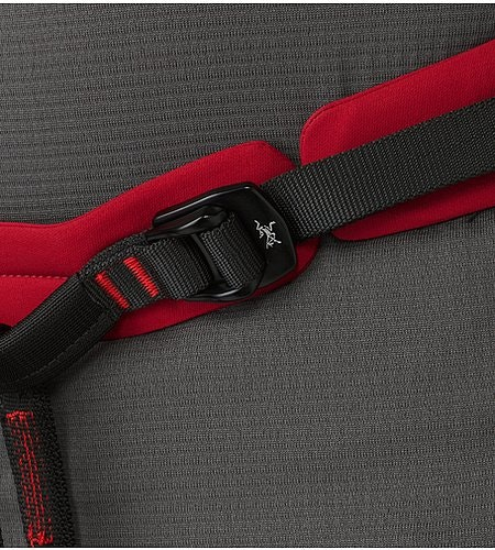 FL-365 Harness Red Beach Flare Taillenschnalle