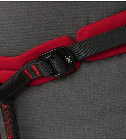 FL-365 Harness Red Beach Flare Waist Buckle