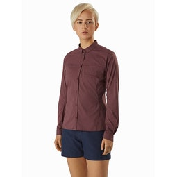 Fernie Shirt LS Women's Inertia Front View