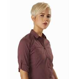 Fernie Shirt LS Women's Inertia Rolled Sleeve