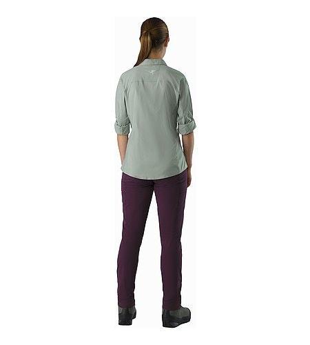 Fernie Shirt LS Women's Sage Back View