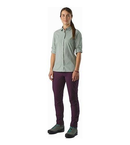 Fernie Shirt LS Women's Sage Front View