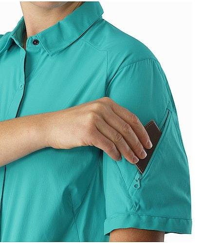 Fernie Shirt SS Women's Castaway Ärmeltasche