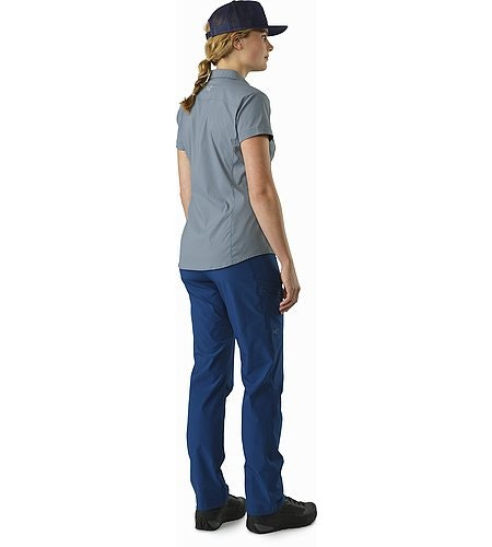 Fernie Shirt SS Women's Masset Back View