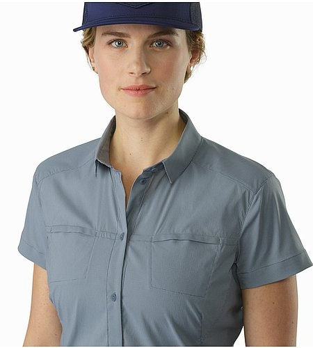 Fernie Shirt SS Women's Masset Open Collar