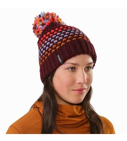 Fernie Toque Women's Crimson Front View