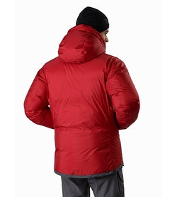 Firebee AR Parka Red Beach Back View