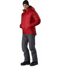 Parka Firebee AR Red Beach Portrait en pied
